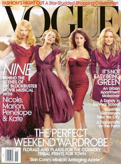 Cover US Vogue, November 2009