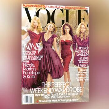 Cover US Vogue 11/2009